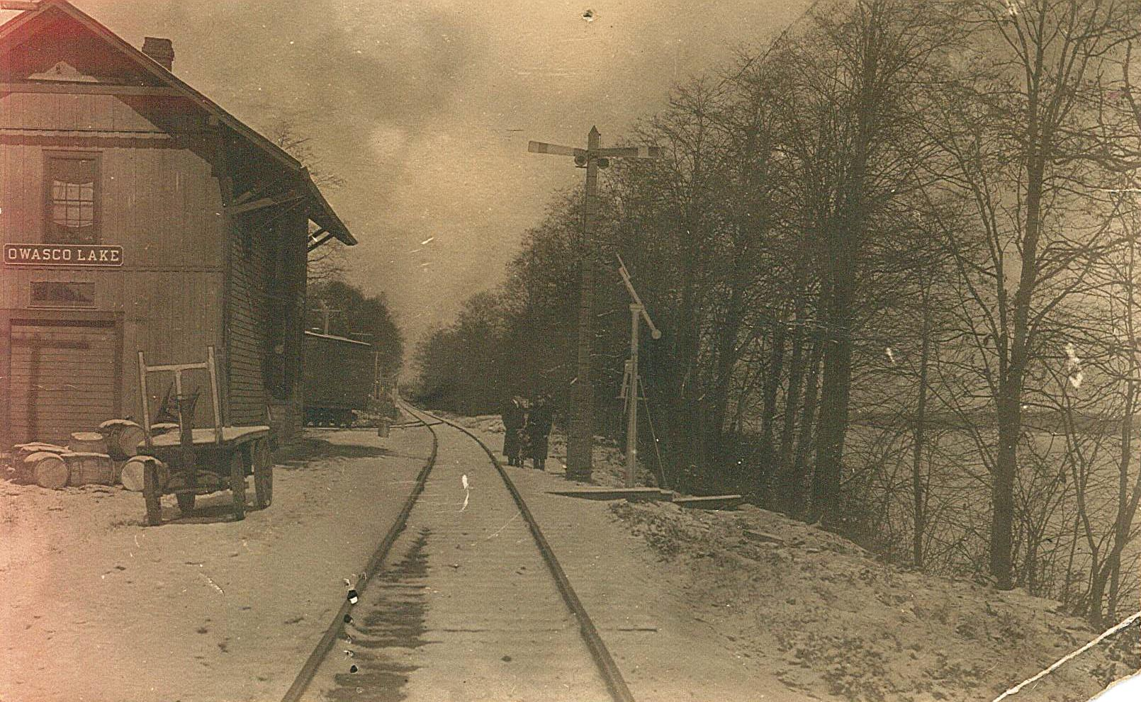 Wycoffs, N.Y. Later renamed Owasco Lake Station, N.Y.